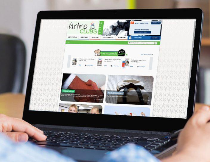 Site Extranet destiné aux clubs de Judo