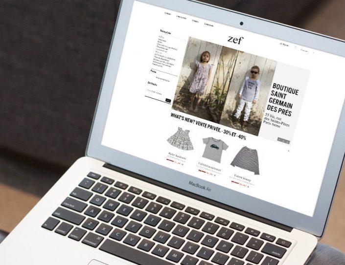 eCommerce - Vêtements pour femmes enceintes